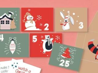 holiday mini envelopes to print out