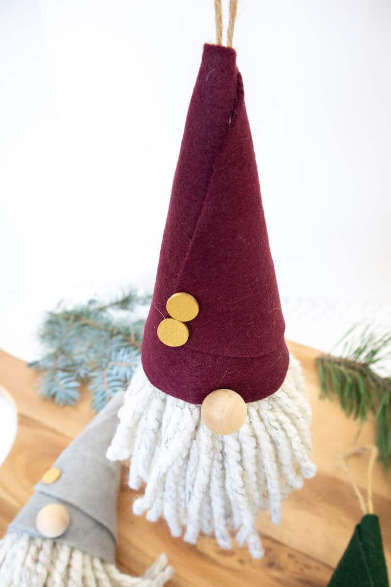 DIY Gnome Ornament Craft