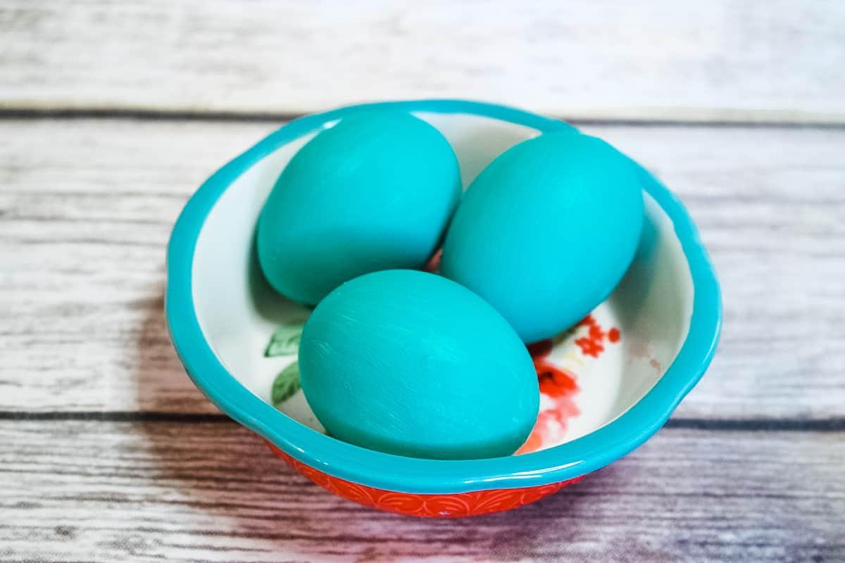 Gilded Easter Egg Step 2