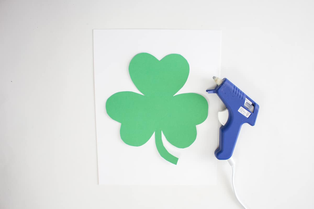St Patricks Day Shamrock Step 3