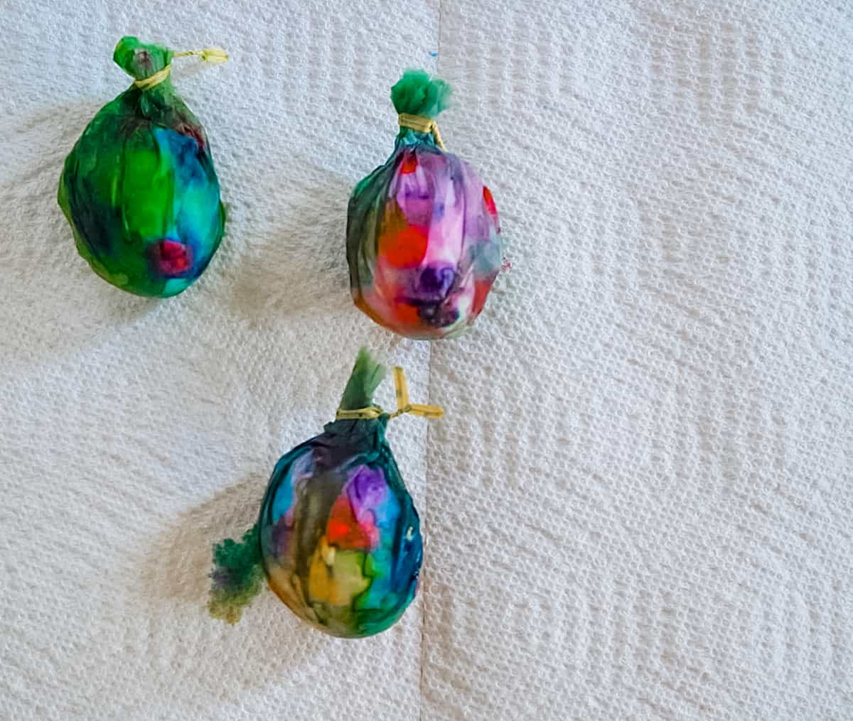 Tie Dye Easter Eggs step 5