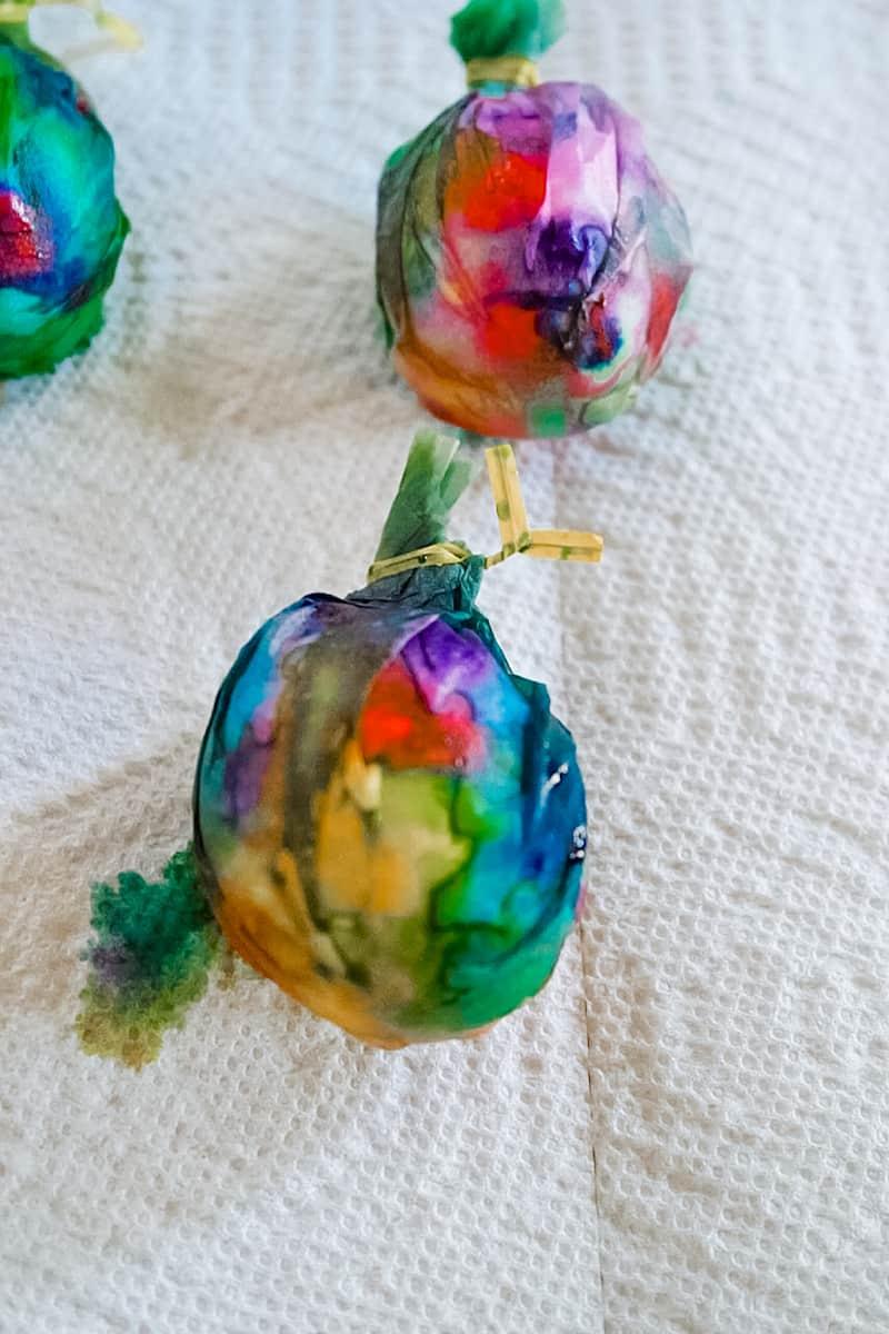 Tie Dye Easter Eggs step 4