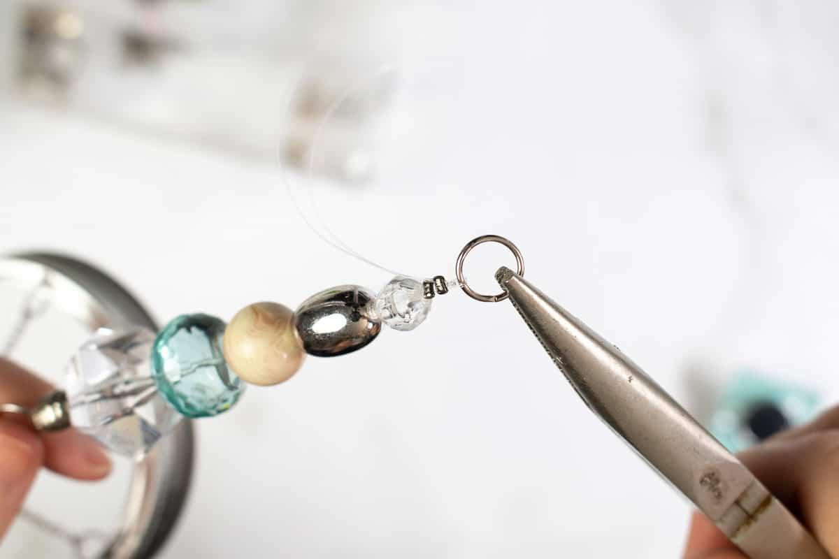 DIY Suncatcher with Beads Step 5