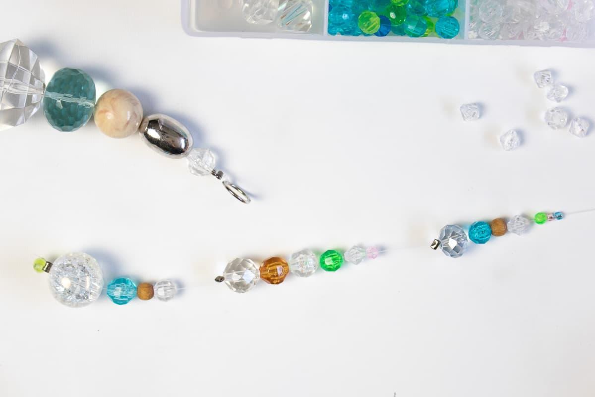 DIY Suncatcher with Beads Step 7