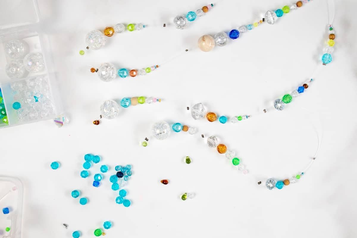 DIY Suncatcher with Beads Step 8