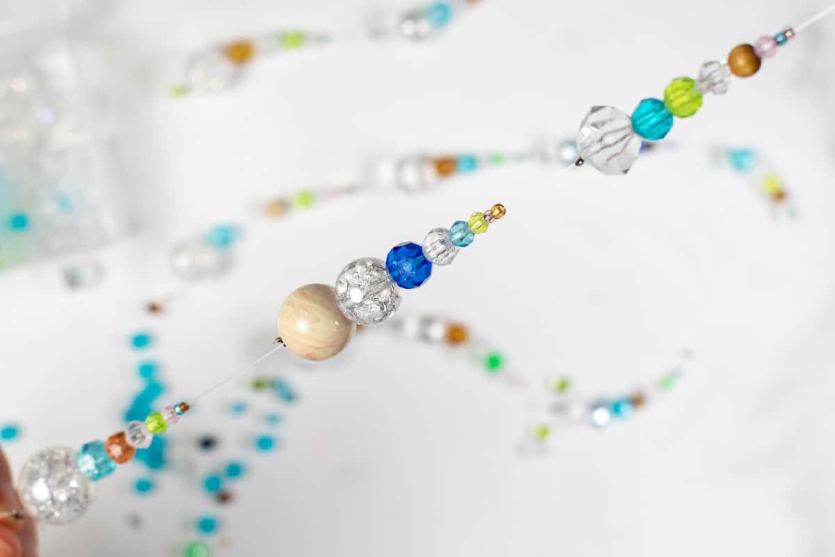 DIY Suncatcher with Beads Step 9