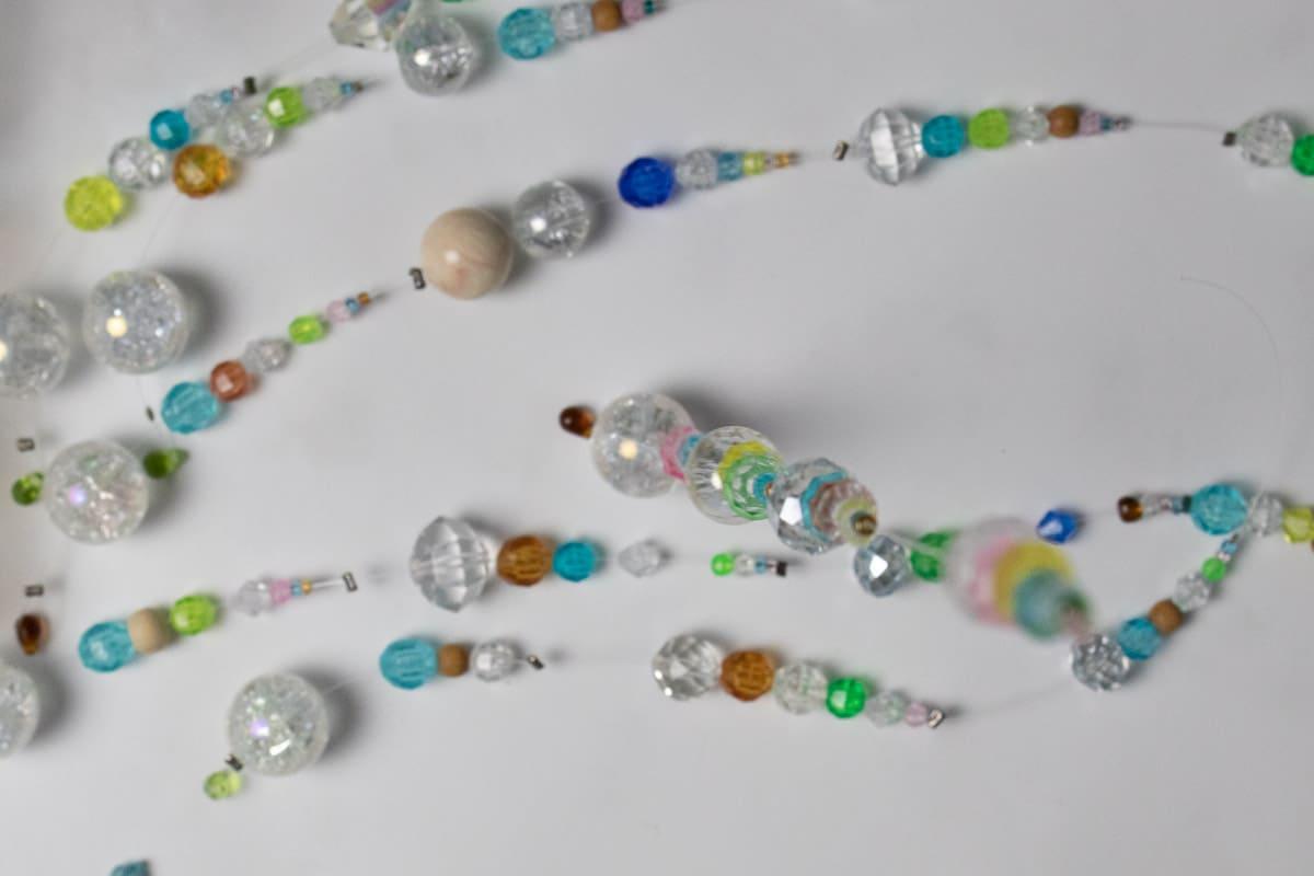 DIY Suncatcher with Beads Step 10